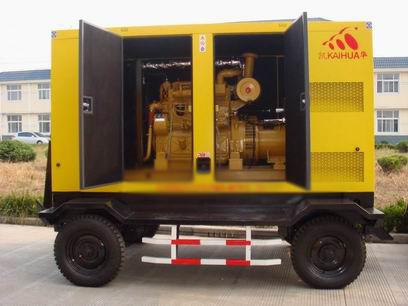 贵阳应急发电机-300kw移动静音发电机组