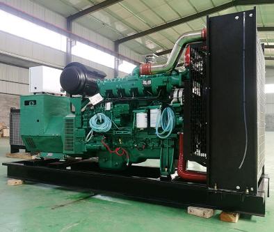 贵阳观山湖县泰豪500kw大型柴油发电机组